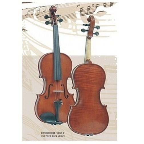 Скрипка 4/4 с чехлом Gliga Intermediate Gems 2 OPB I-V044-O-Set описание и цены