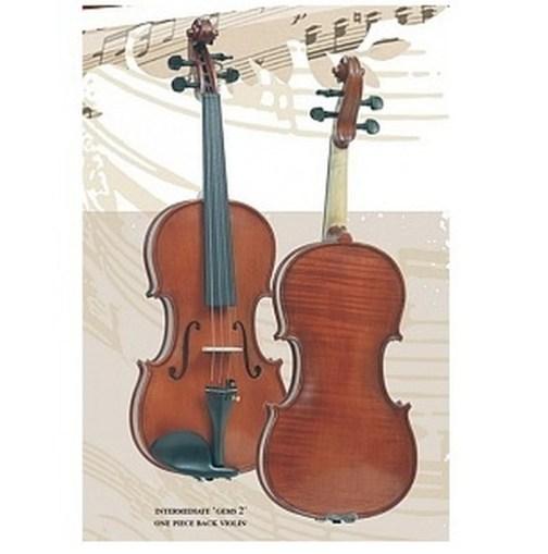 Скрипка 4/4 Gliga Intermediate Gems 2 OPB I-V044-O описание и цены