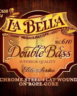 Комплект струн для контрабаса размером 3/4, La Bella RC610 описание и цены