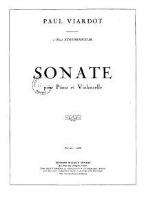 Viardot P. - Cello Sonata