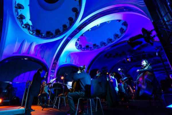 Топ-5 самых необычных концертных залов мира!