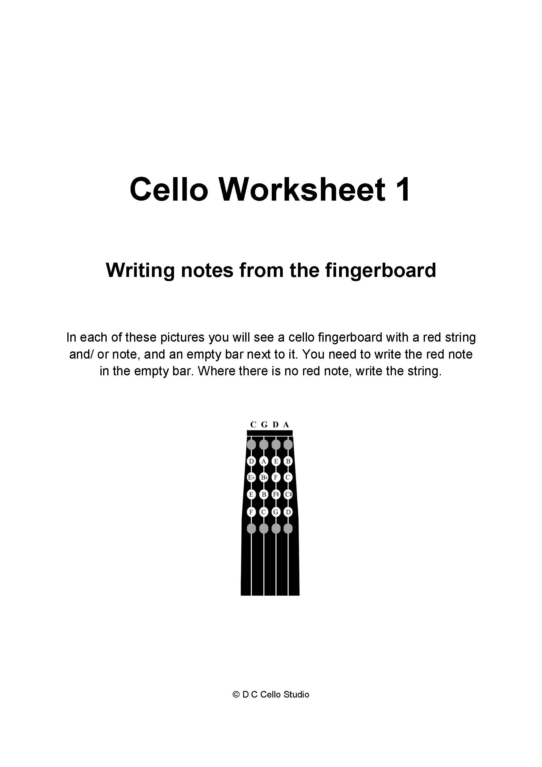 Worksheets For Your Beginner Students