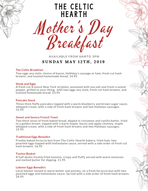 Mother's Day Breakfast Options
