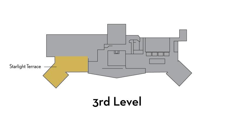 Starlight Terrace - 3rd Level, East side