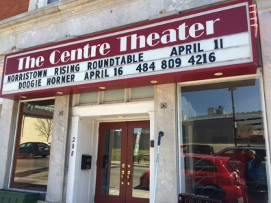 April marquee