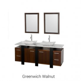 Greenwich Walnut | Available Sizes: 48″ & 72″ (by Special Order Only).