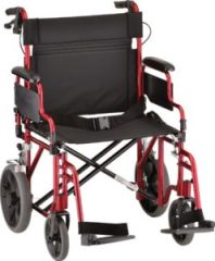 NOVA Medical Heavy Duty Transport Wheelchair