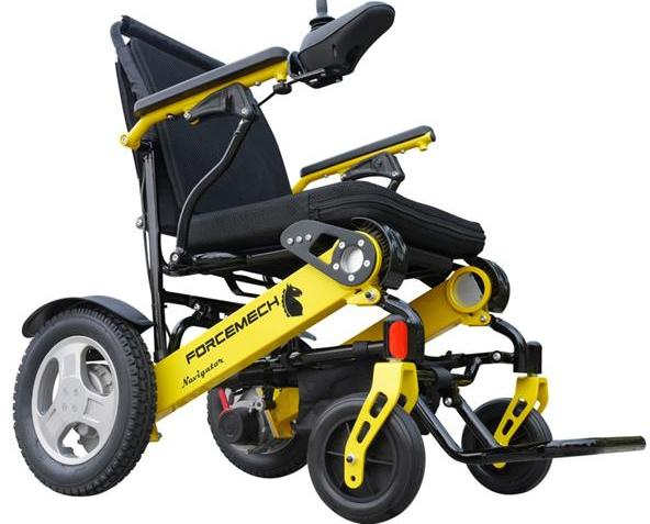 Forcemech Navigator All Terrain Folding Electric Wheelchair