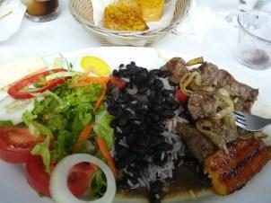 More Costa Rican food, casado