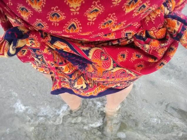 A walk in the beach