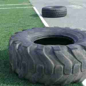 low res tire flip