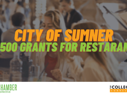 City of Sumner to Give $2,500 Grants to Restaurants