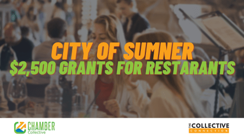 City of Sumner Giving $2500 Grants to Restaurants - The Chamber Collective
