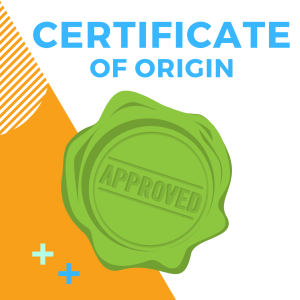 Certificate of Origin - The Chamber Collective