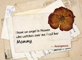 Mom is an angel