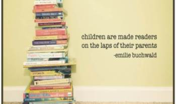 Thought For The Day – Children Become Readers