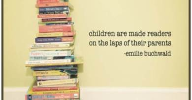 Thought for the day - Children become readers
