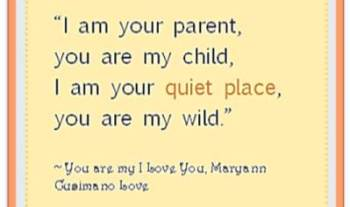Thought For The Day – I Am Your Parent
