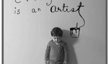 Thought For The Day – Every Child Is An Artist