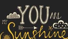You are my sunshine 1