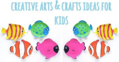 Creative art and crafts ideas for kids 11