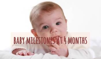 Baby Milestones at 4 months