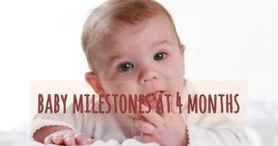 Baby Milestones at 4 months 05