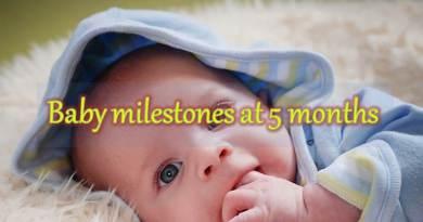 Baby Milestones at 5 months 04