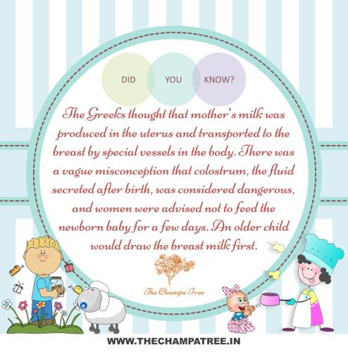 Did You Know Facts - Mother milk