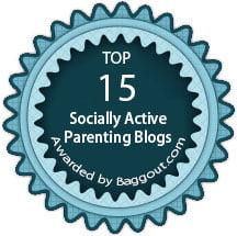 The Champa Tree Socially Active Parenting Blog Baggout Badge