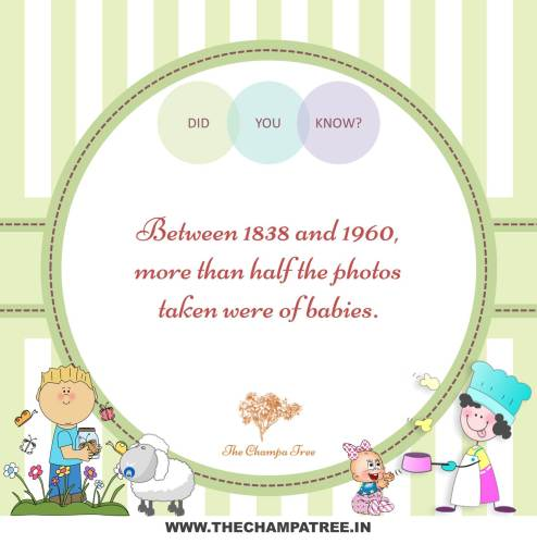 Did You Know Facts - Pictures between 1838 and 1960