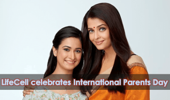 LifeCell celebrates International Parents Day