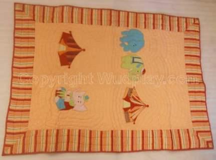 Wooden baby cradle 13