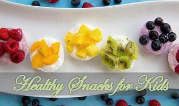 2 Nutritious and easy healthy snacks for kids