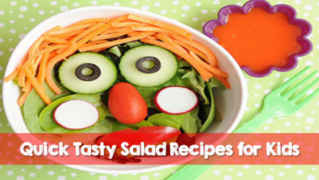 Quick healthy snacks salad recipes for kids 4