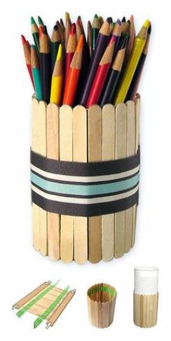 DIY Pen/Pencil Stand - Easy craft ideas for kids