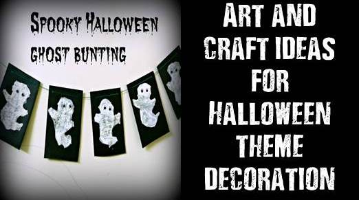 Halloween theme decoration art and craft 07