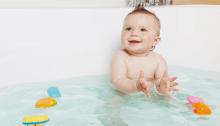 Baby bath time 06