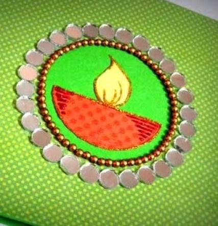 diy Diwali greeting cards 05