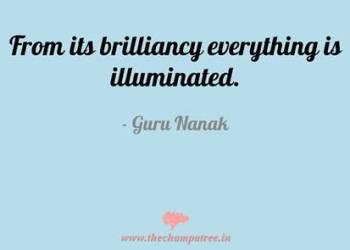 Thought of the day in English on Guru Nanak Jayanti