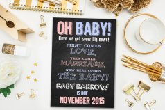 Cute baby announcements 08