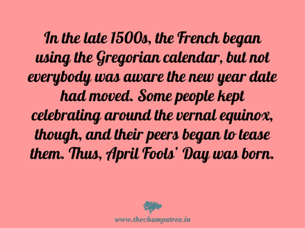 History of April fools day 01