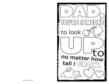 Free Printable Fathers Day Cards 12