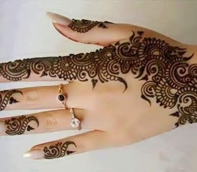 Mehndi designs 15