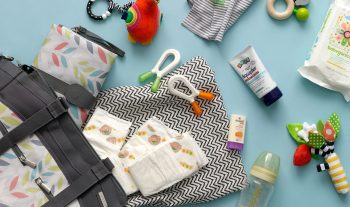 The art of packing the perfect diaper bag