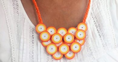 DIY quilled fashion accessory 07