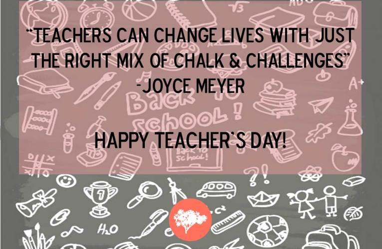 Happy Teacher's Day 2017