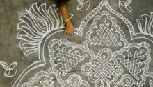 Onam Rangoli designs 02