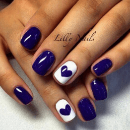 DIY nail art designs 11