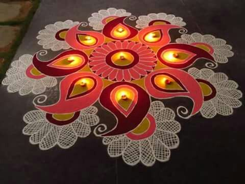 Indian rangoli 16